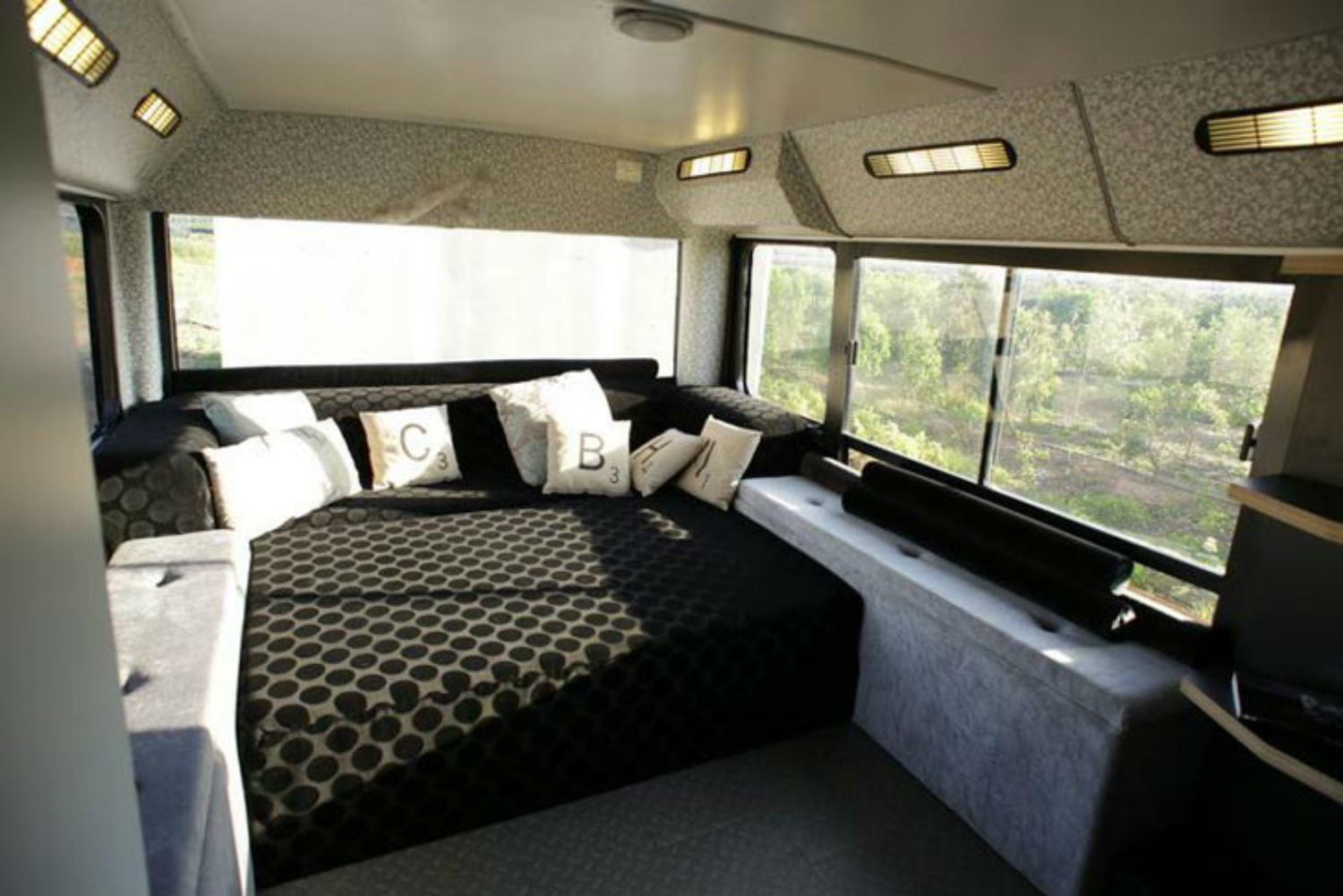 coolest bus to mobile home conversions israelbusbedroom