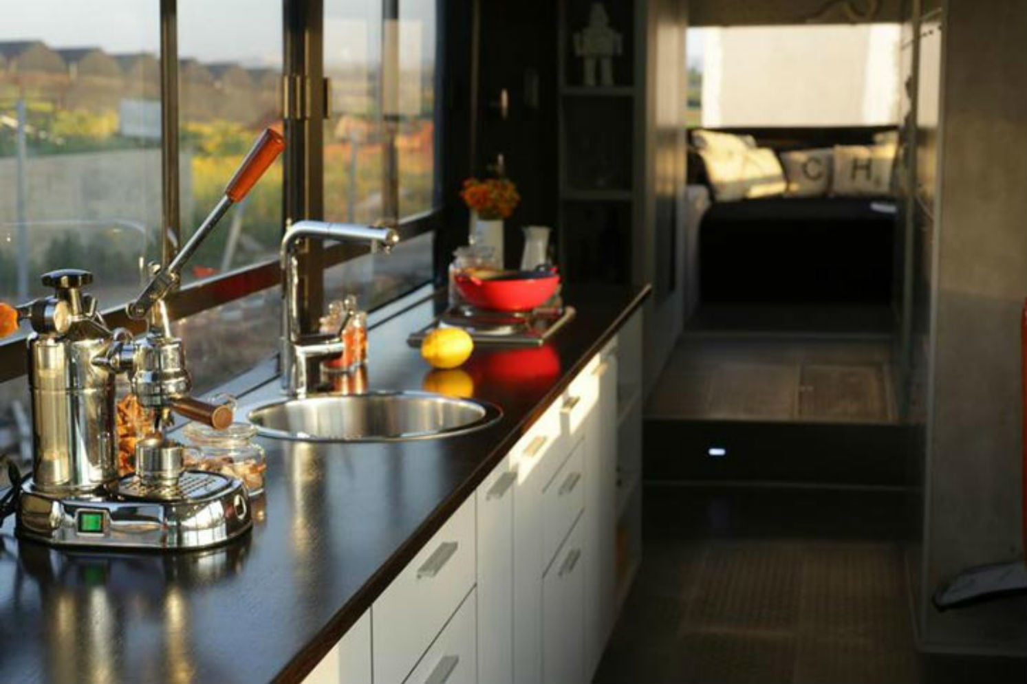 coolest bus to mobile home conversions israelbuskitchen
