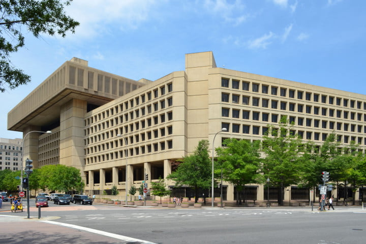 hacker compromises data of nearly 30000 fbi and dhs employees with a simple phone call j edgar hoover building headquarters
