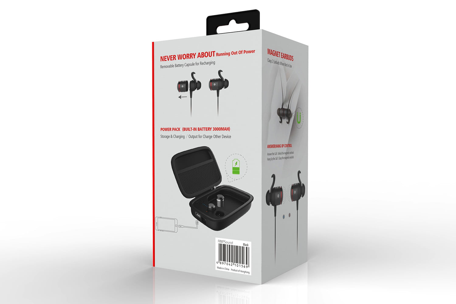 jabees ampsound 3 in 1 earphones indiegogo bluetooth hearing amplifiers 030