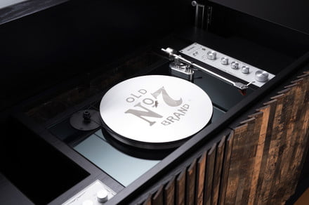 You don't need to love whiskey or vinyl to want this Jack Daniel's Hi-Fi console