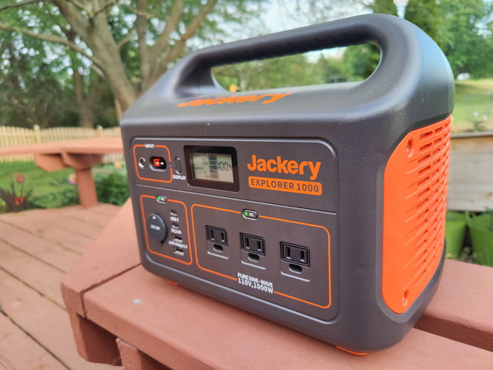 The Jackery Explorer 1000 is a 1000 W portable power station.
