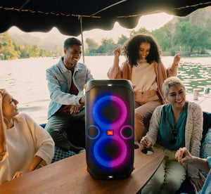 The JBL Partybox 110.