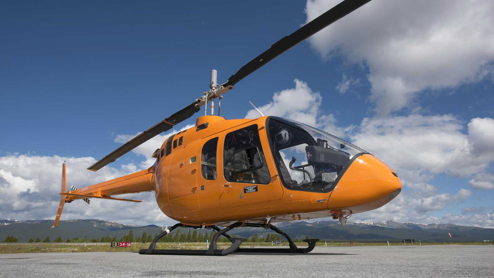 most expensive helicopters jet ranger x 3
