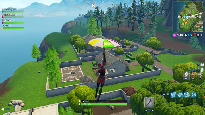 Fortnite week 10 challenge: jigsaw puzzle pieces