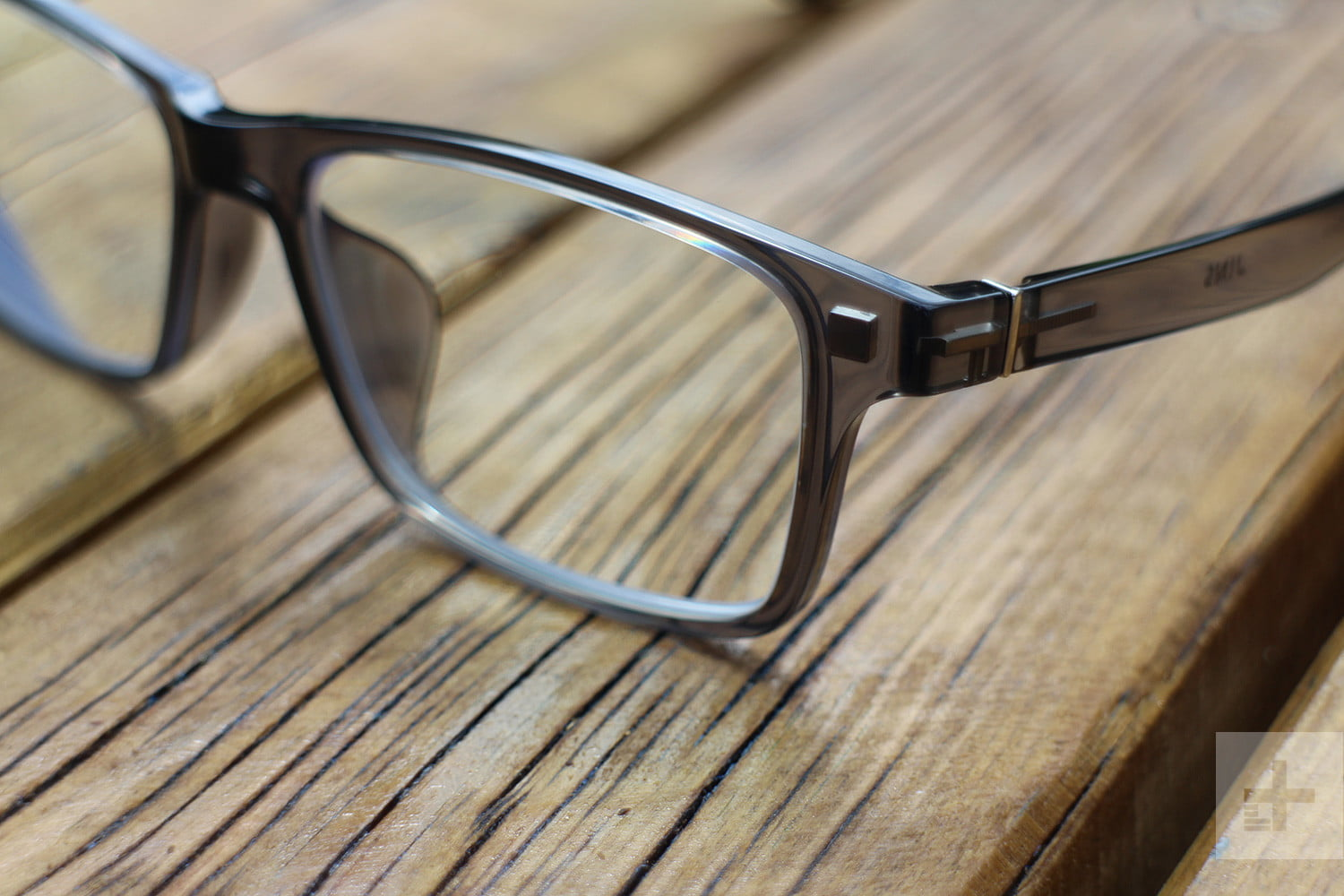 Jins Frontswitch Glasses clear front