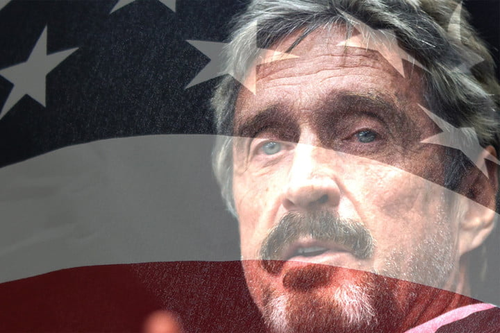 john mcafee psychedelics for president