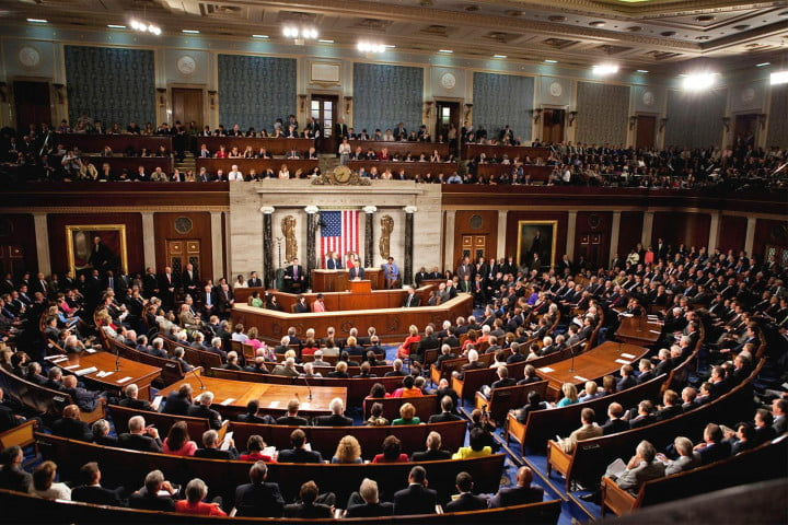 democrats sit in live stream joint session of congress