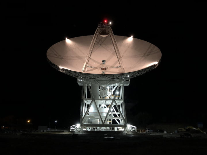 Deep Space Station 56, or DSS-56, is a powerful 34-meter-wide (112-foot-wide) antenna that was added to the Deep Space Network's Madrid Deep Space Communications Complex in Spain in early 2021.
