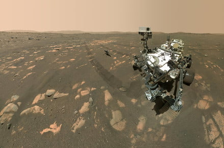 How NASA's Perseverance rover captured its iconic selfie