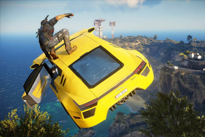 playstation plus august 2017 justcause3flyingcar
