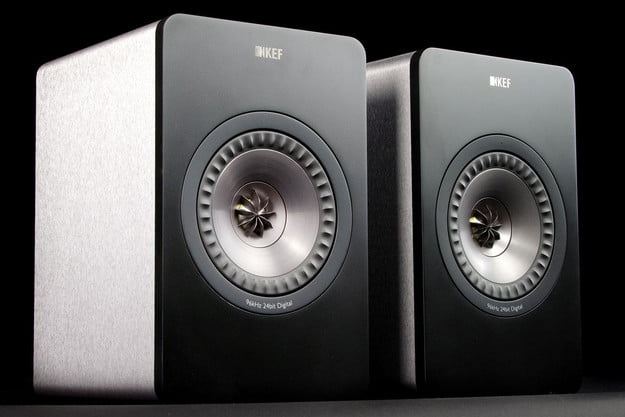 KEF X300 A review speakers angle