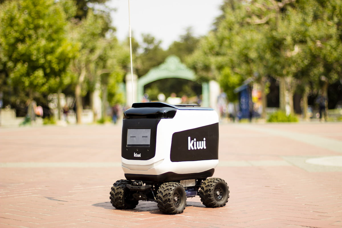 Future of Cities: Robot Delivery Startup (Kiwibot)