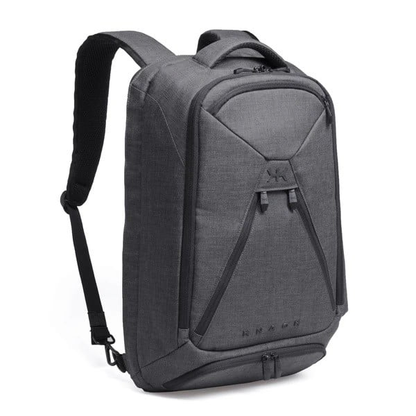Series 1 Knack Pack laptop bag with raised shoulder straps on a white background.