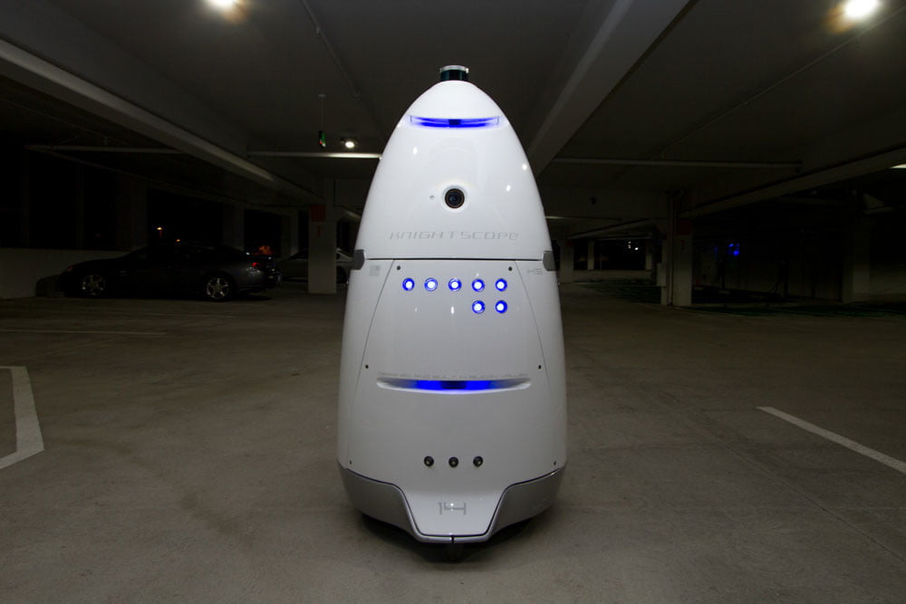 security robot knightscope k5 8489