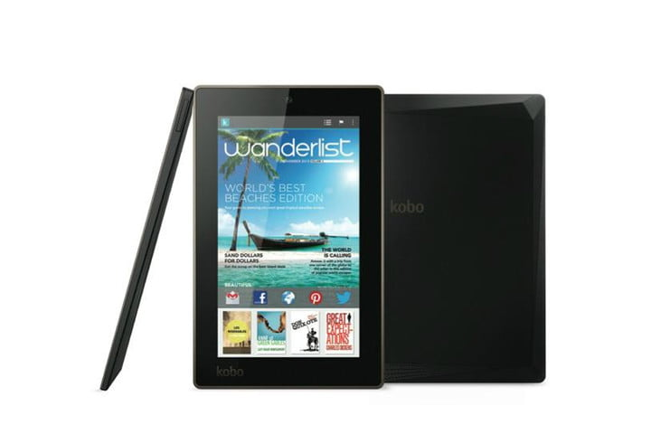 kobo unveils three reader centric tablets together with new aura e arc 7
