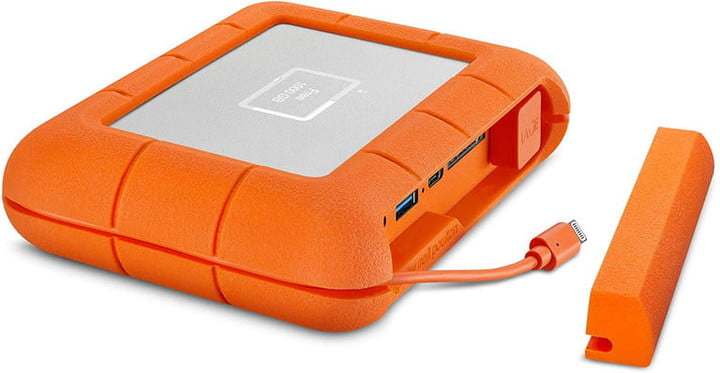 The LaCie Rugged BOSS.