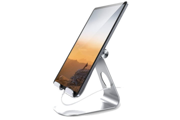soporte para lamicall-tablet-stand-silver-ipad