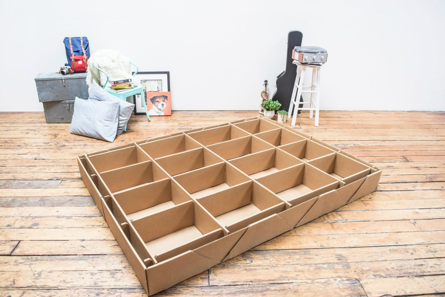 layla launches its mattress delivery kickstarter carboard boxspring