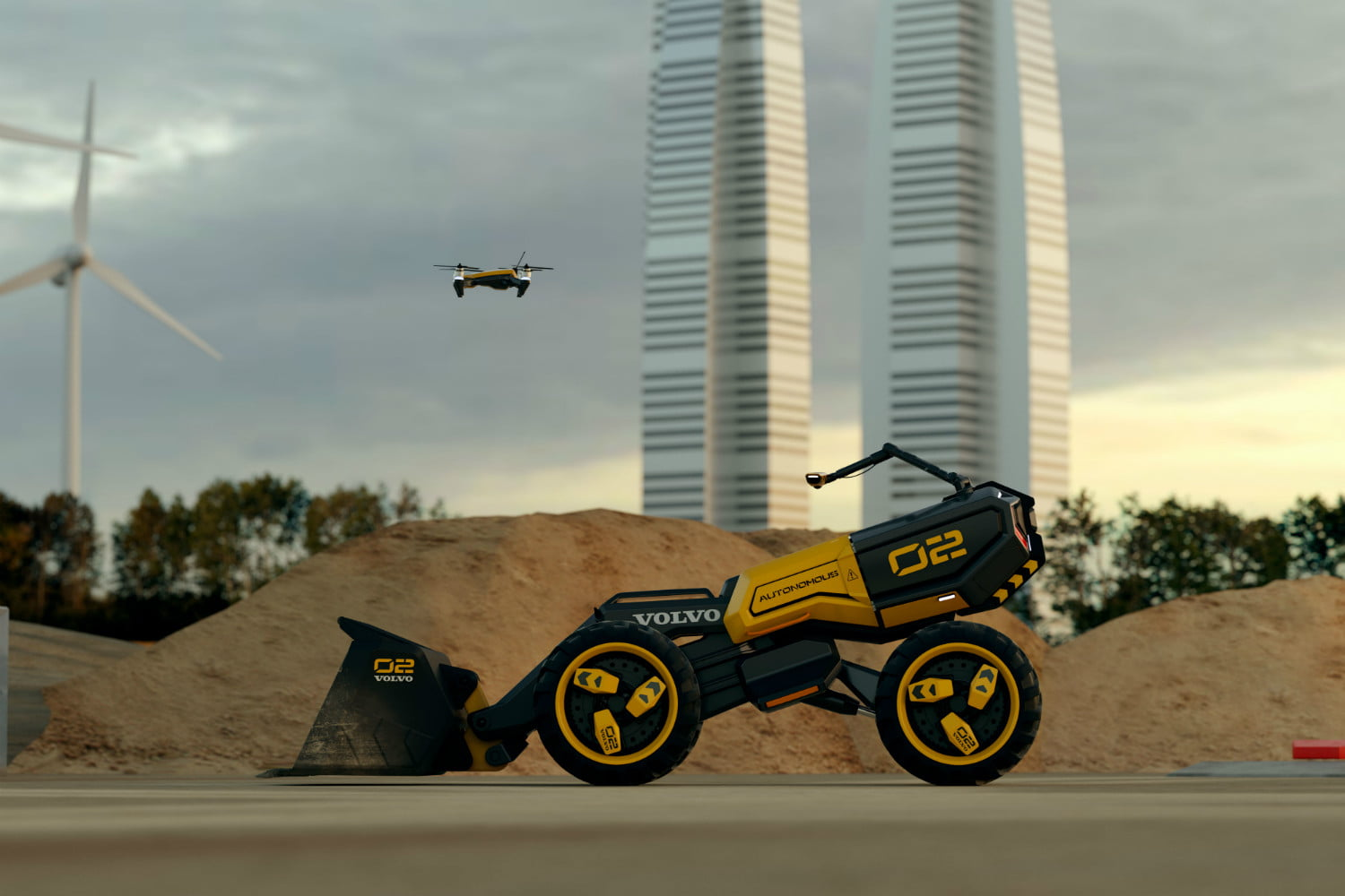 volvo lego wheel loader and 03