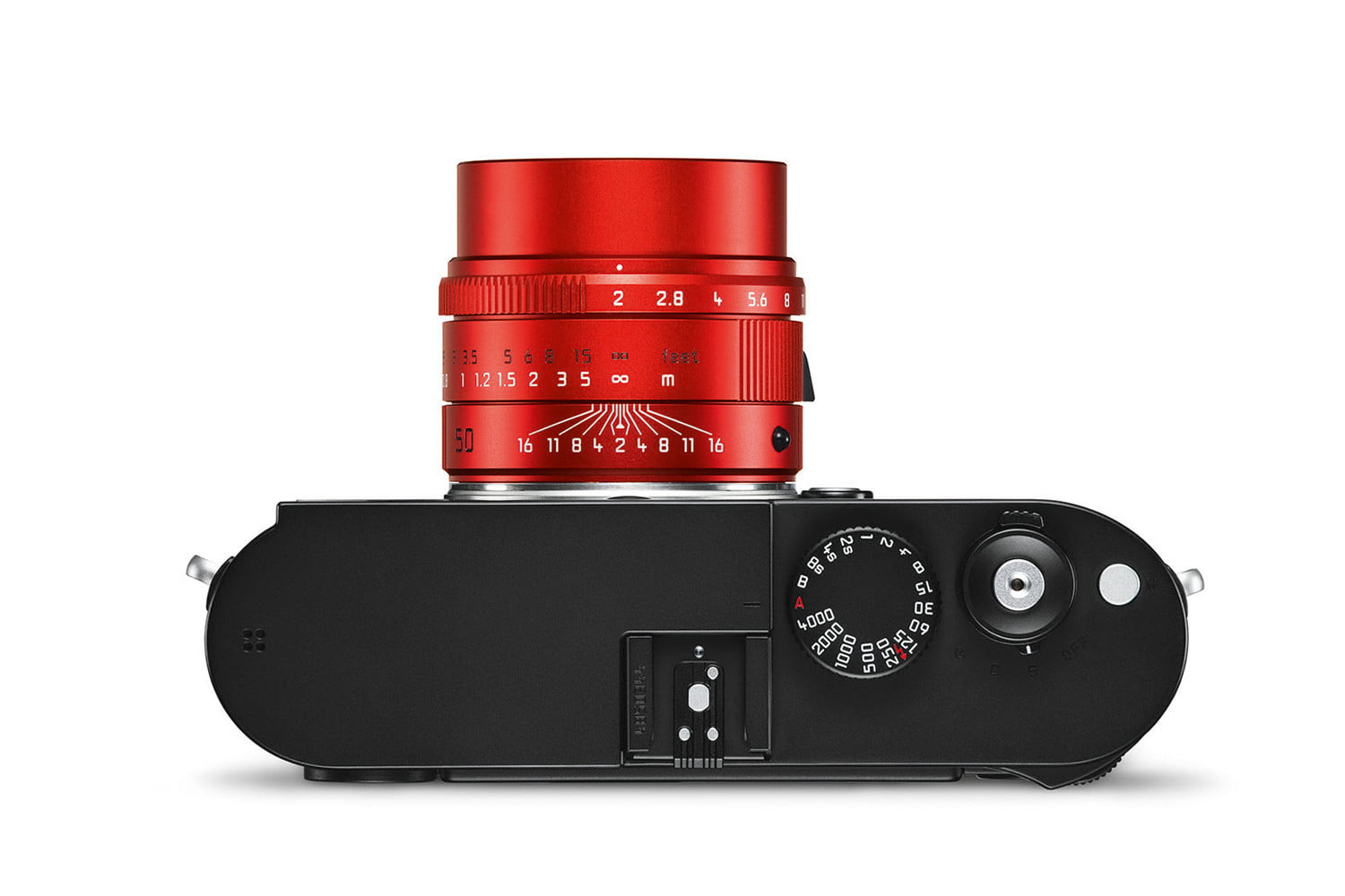leica first special edition lens apo summicron m red monochrom top cmyk