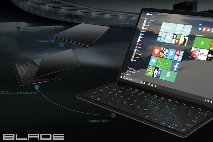 lenovo shows off blade windows 10 2 in 1 device header featured