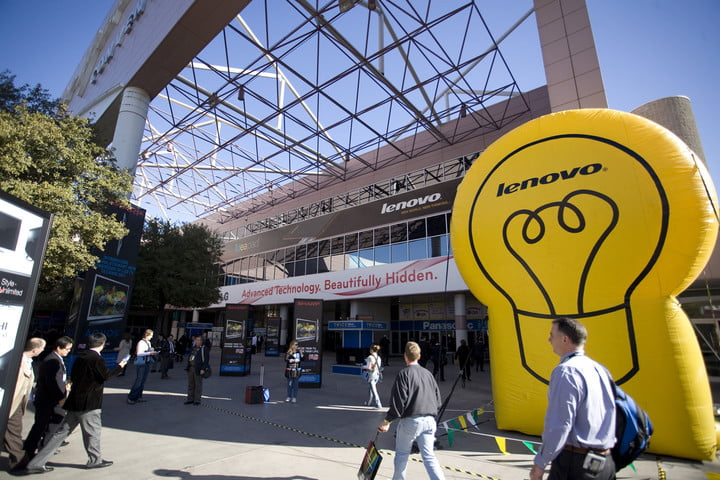 lenovo phasing out motorola brand store storefront sign hq headquaters ces