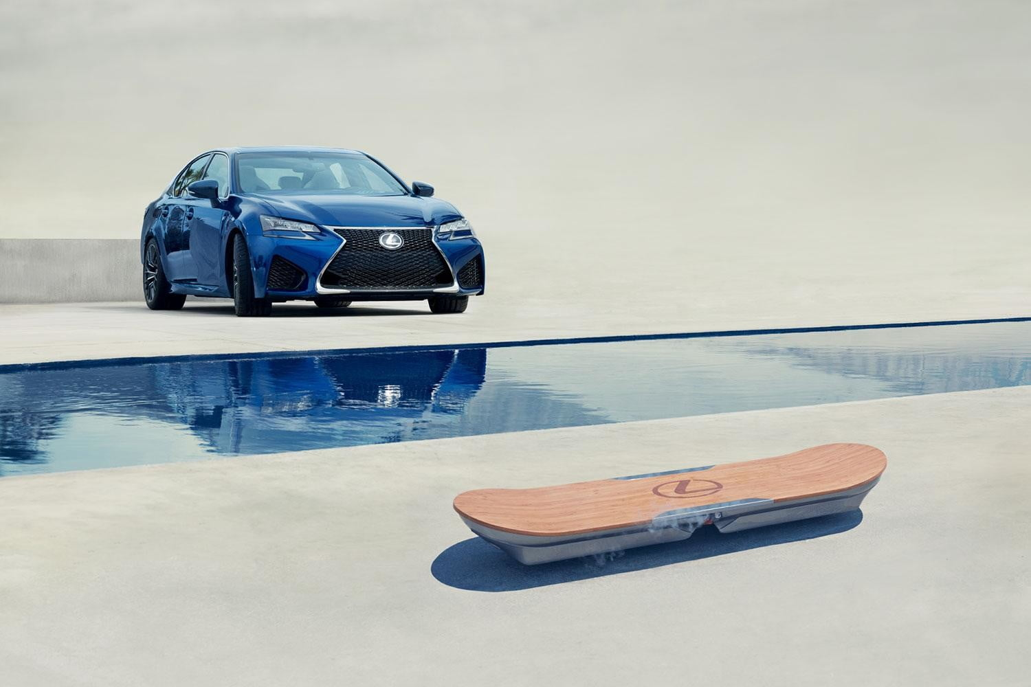 lexus hoverboard news pictures video slide hoverpark 1