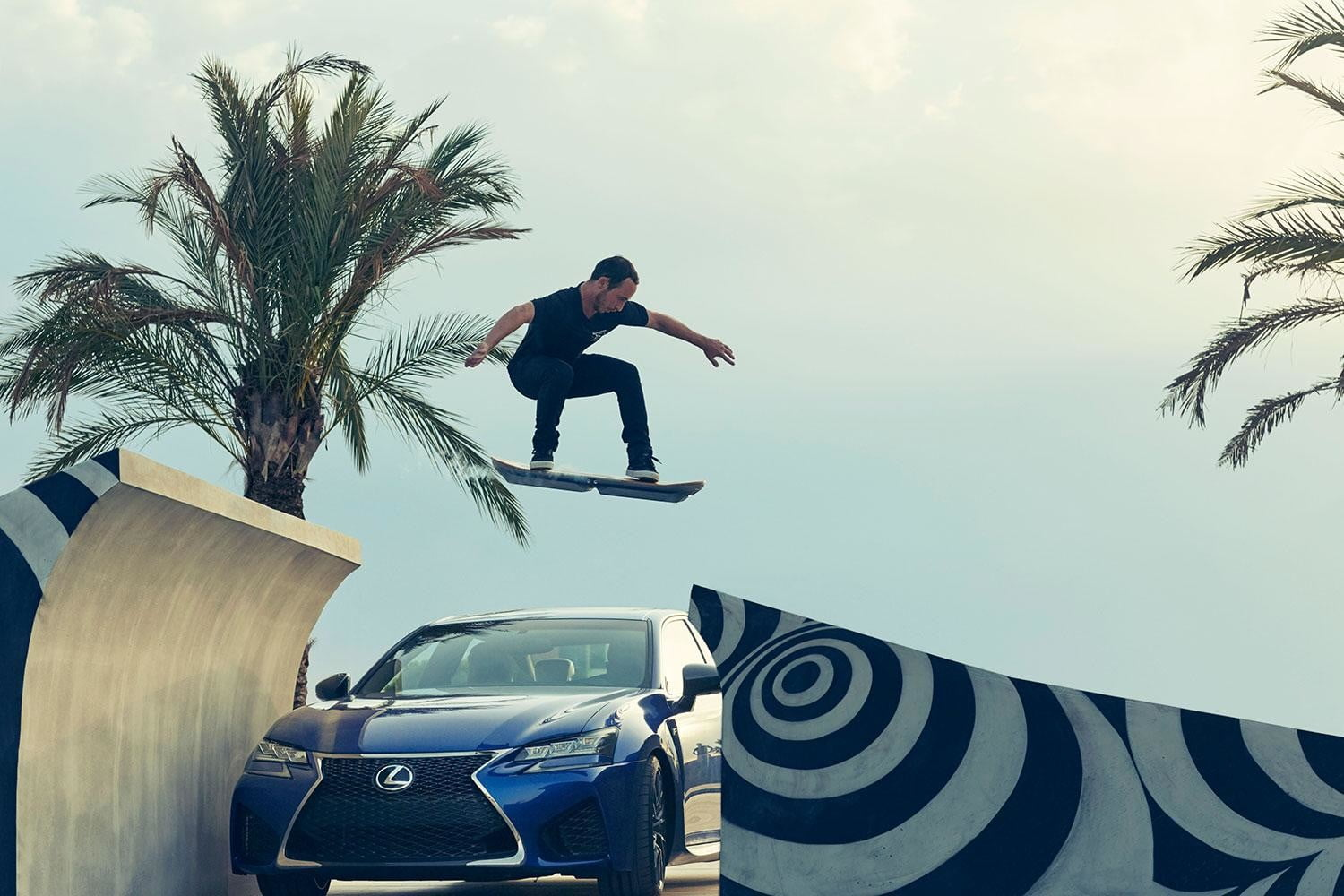 lexus hoverboard news pictures video slide hoverpark 11