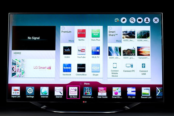 lg smart tv privacy issue fix 60la8600 led front on 1486x991