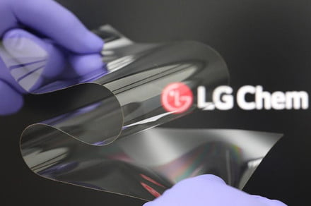 LG's new foldable display bends both ways and doesn't crease