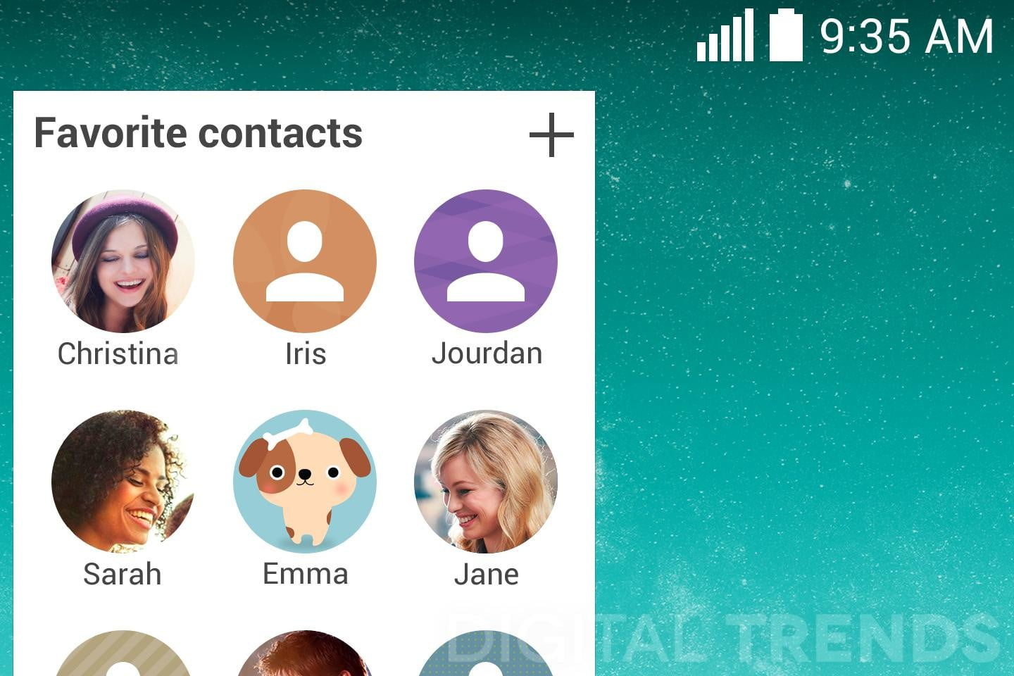 lg g3 homescreen screenshots leak exclusive favorite contacts macro 2