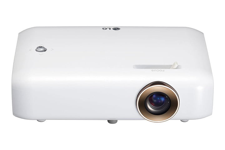 The LG Minibeam portable projector.
