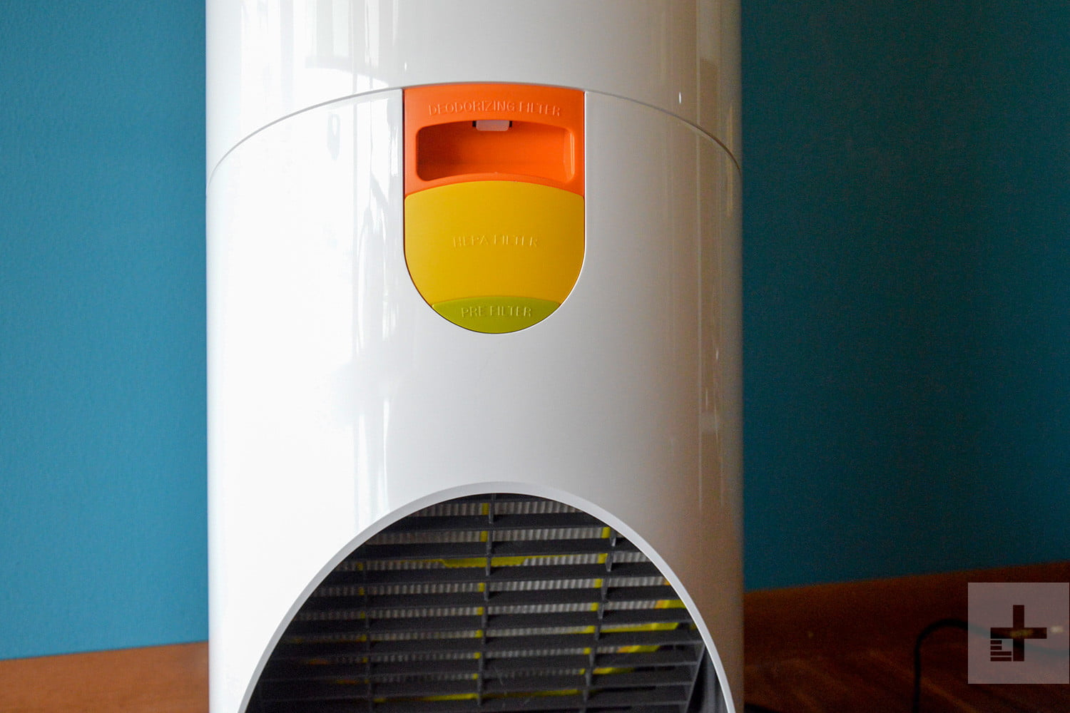 LG Puricare air purifier review filter trays