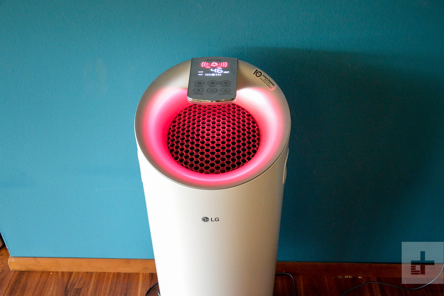 LG Puricare air purifier review pink full
