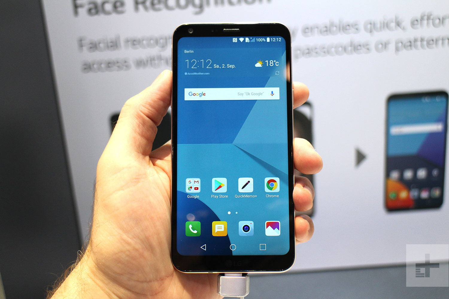LG Q6 review home