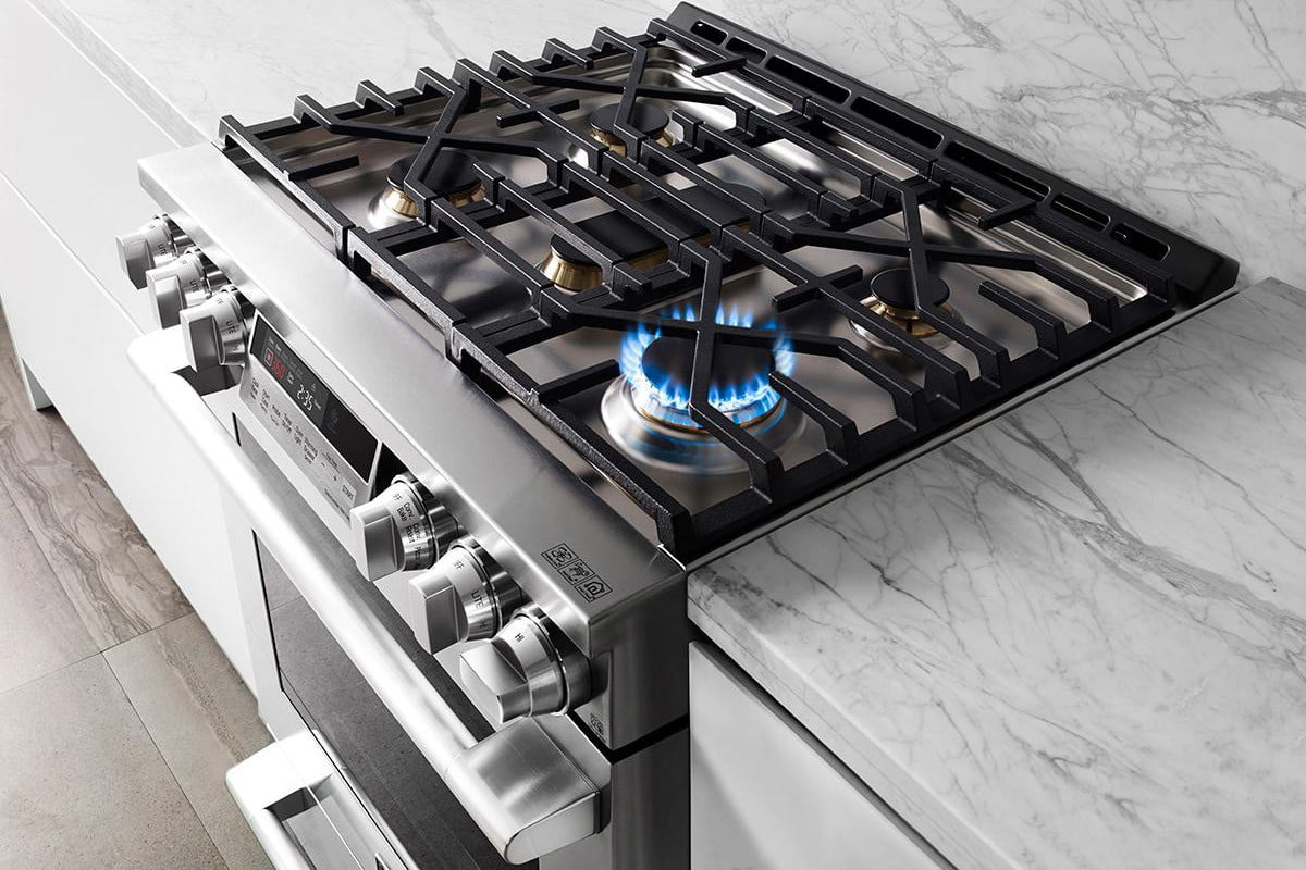 signature is a luxury smart appliance brand from lg kitchen suite gas range 1