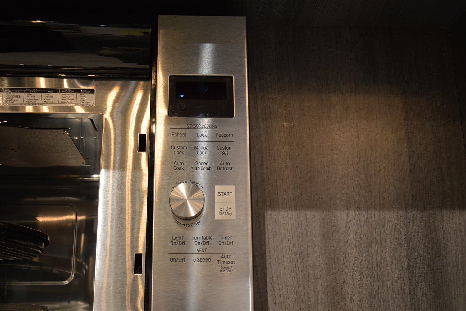 signature is a luxury smart appliance brand from lg kitchen suite over the range microwave oven 0369