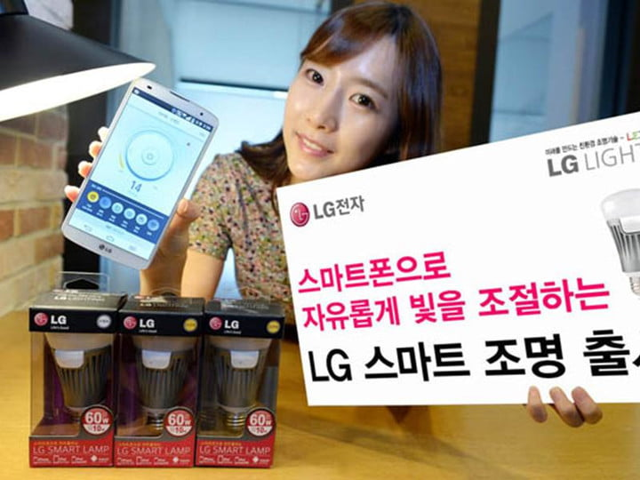 lgs smart bulb brings connected home one step closer lg