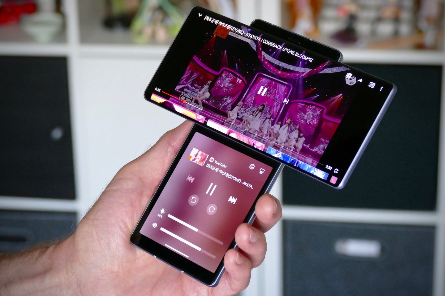 lg wing hands on features price photos release date open video