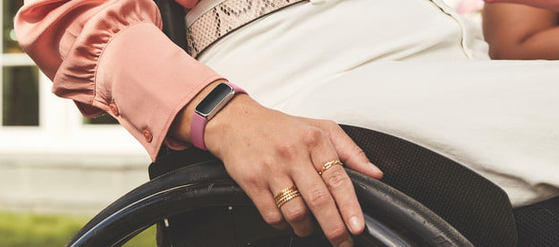 fitbit luxe tracks stress other metrics lifestyle photo of