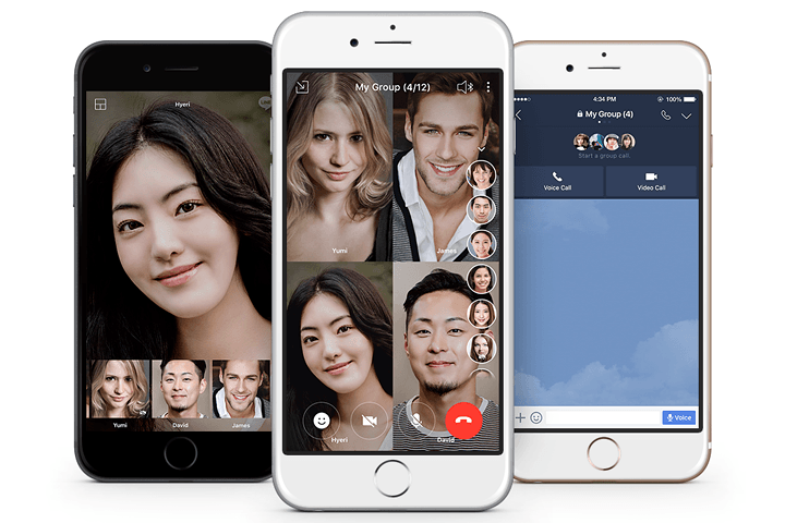 line group video chat news calls