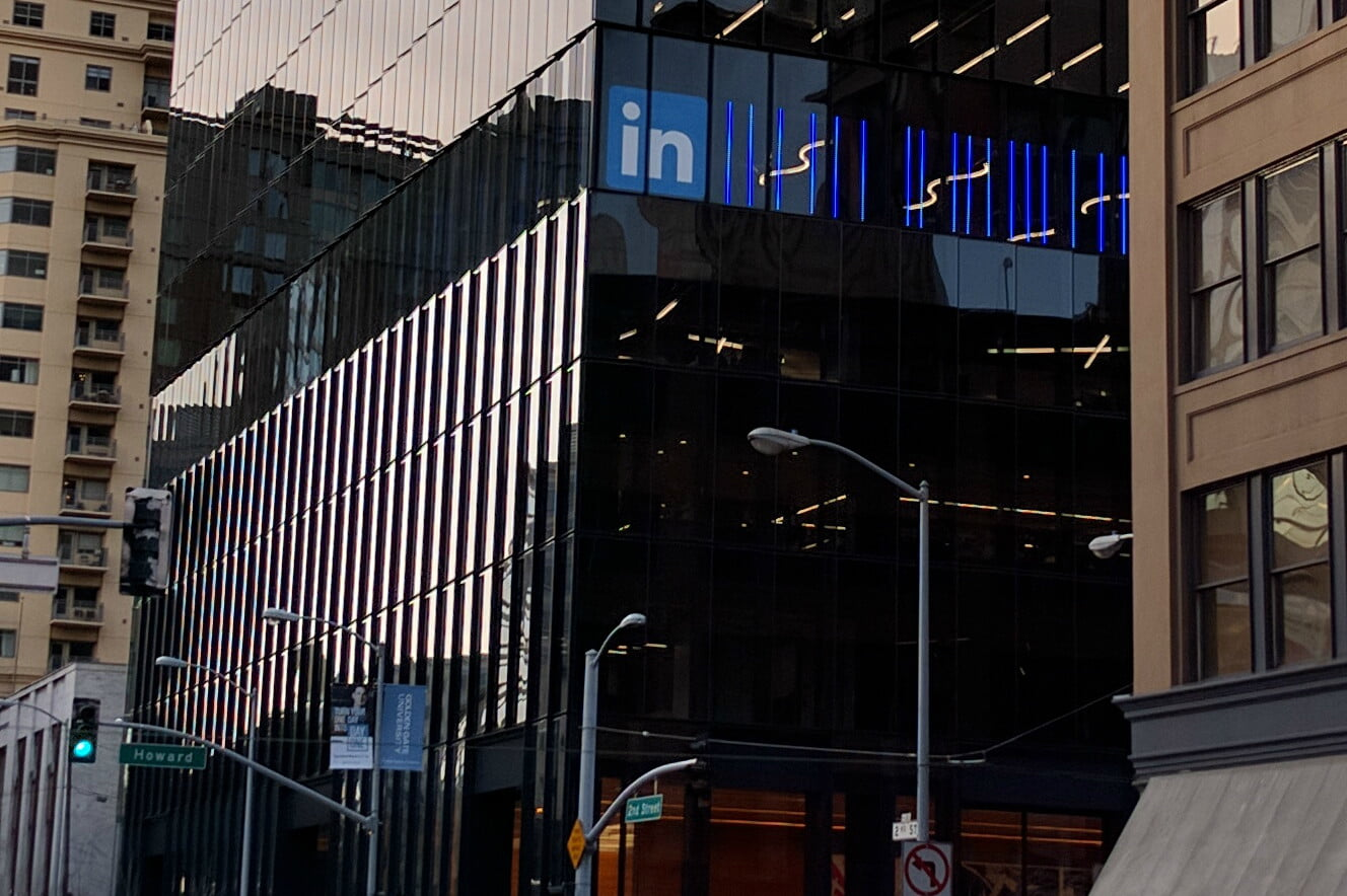 linkedin new sf office front