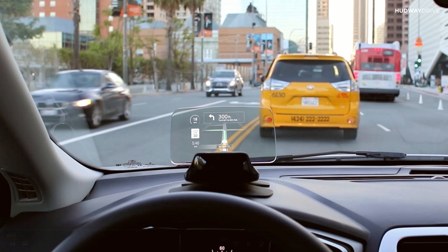 hudway drive heads up display hands on review live 3