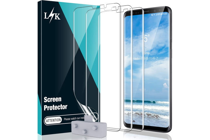 LK Film Screen Protector for Galaxy S9 Plus.