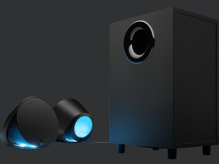 The Logitech G560s are the best speakers for gaming.