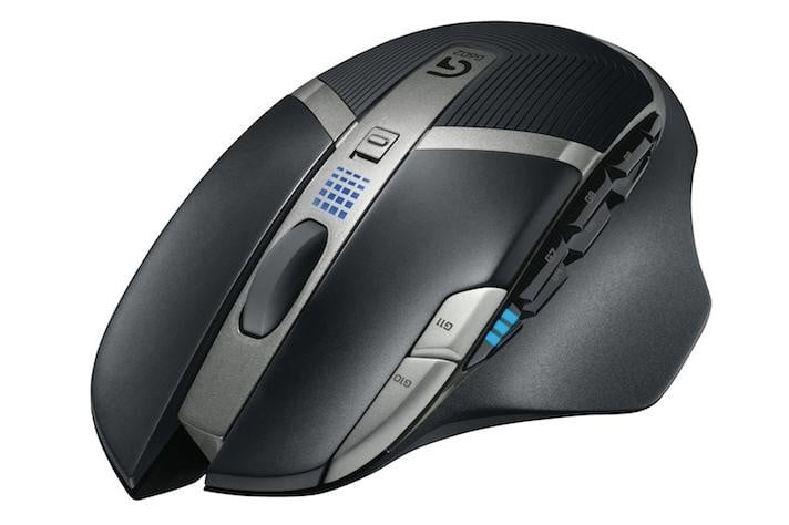 logitech g602 wireless gaming mouse launches with two month battery life