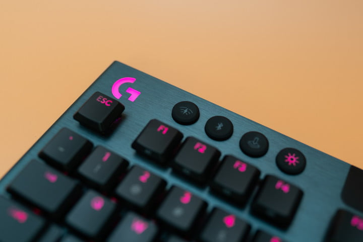 Function buttons on Logitech G915 TKL.