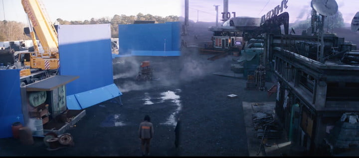 A visual effects slide from Marvel's Loki series.