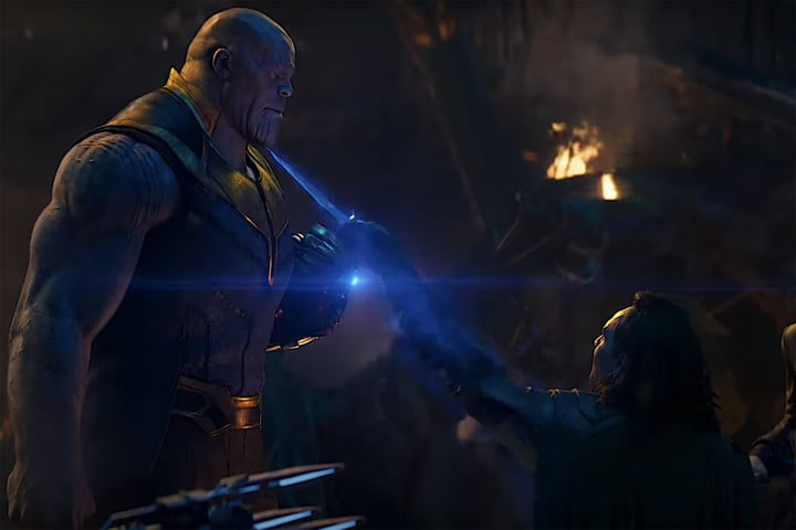 Loki and Thanos in Avengers: Infinity War.